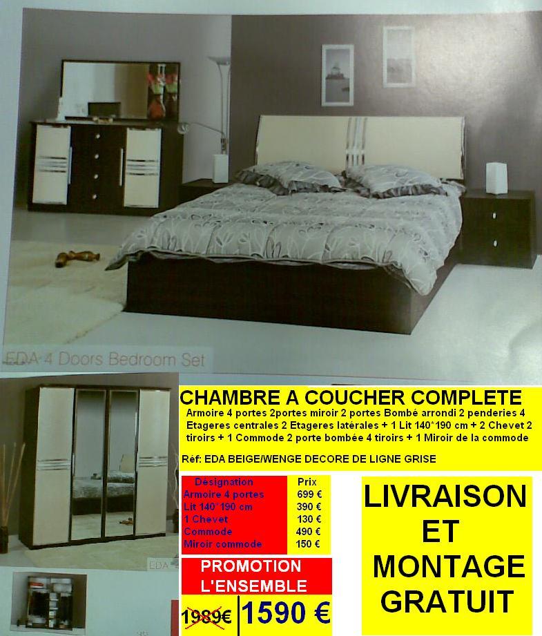 Chambre a coucher occasion ile de france 132740 emihem for Chambre a coucher occasion
